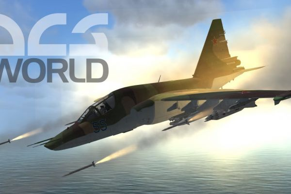 DCS World, supported by GS-Cobra motion simulator