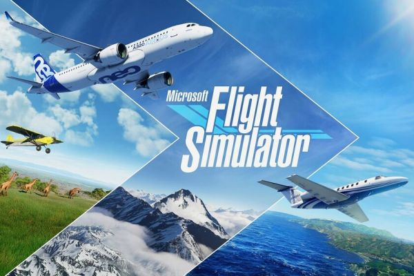 Microsoft Flight Simulator 2020, supported by GS-Cobra motion simulator
