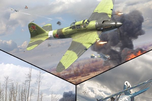 IL-2 Sturmovik Great Battles series, supported by GS-Cobra motion simulator