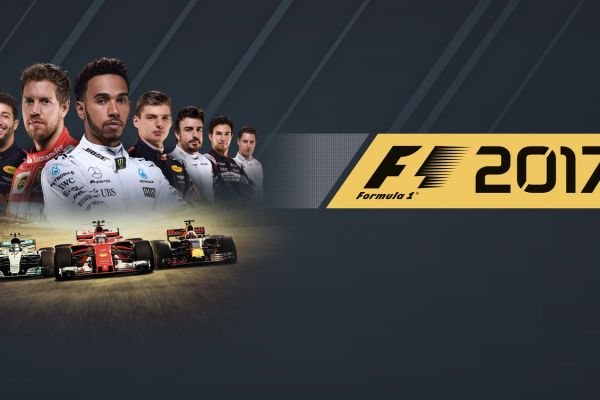 F1 2017, supported by GS-Cobra motion simulator