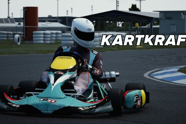 Kart+Kraft,+supported+by+GS-Cobra+motion+simulator