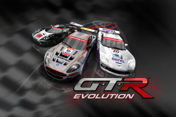 GTR Evolution, supported by GS-Cobra motion simulator