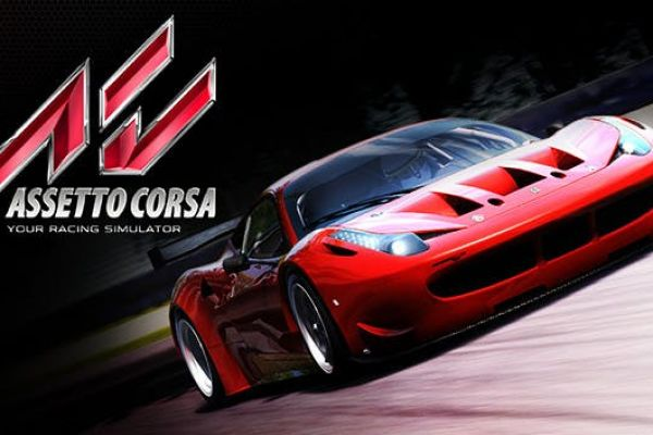 Assetto Corsa, supported by GS-Cobra motion simulator