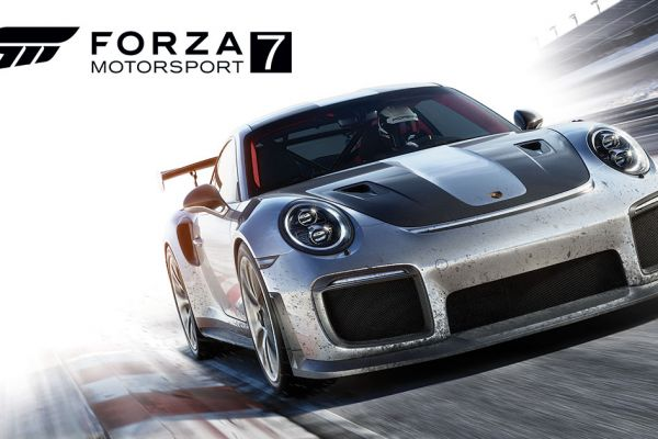 Forza Motorsports 7, supported by GS-Cobra Motion Simulator