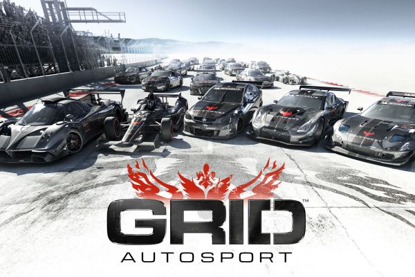 Grid Autosport, supported by GS-Cobra motion simulator