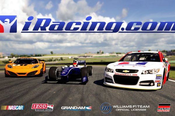 iRacing, supported by GS-Cobra motion simulator