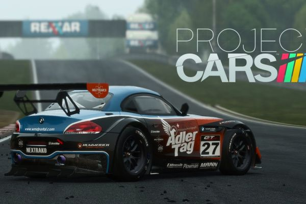 Project Cars, supported by GS-Cobra motion simulator