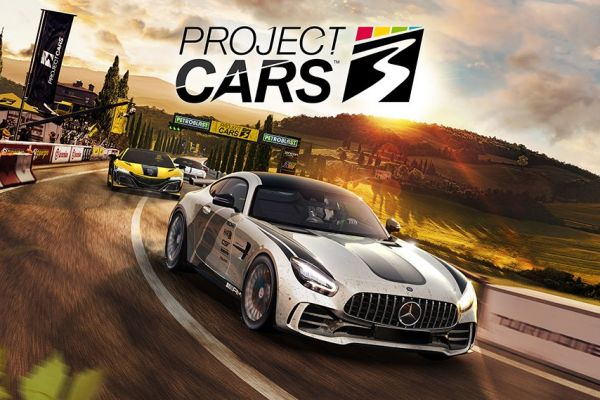 Project Cars 3, supported by GS-Cobra motion simulator
