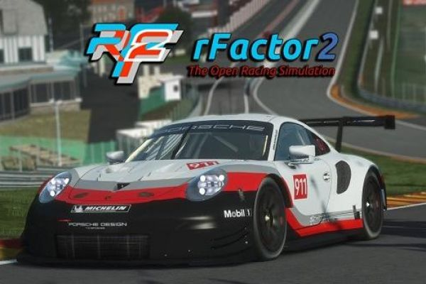 Rfactor 2, supported by GS-Cobra motion simulator