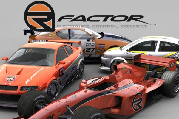 Rfactor, supported by GS-Cobra motion simulator