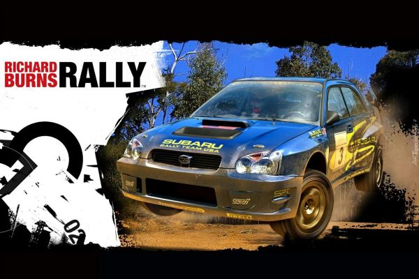 Richard Burns Rally, supported by GS-Cobra motion simulator