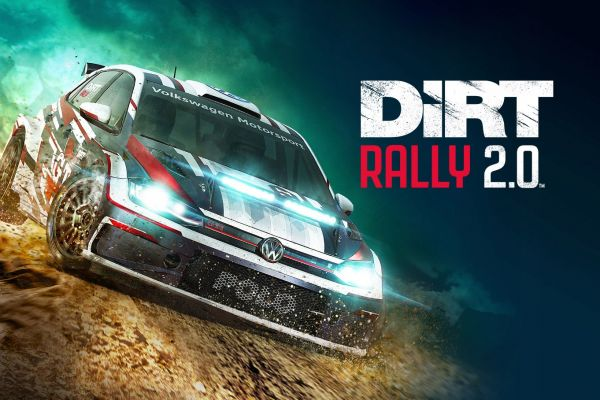 Dirt Rally 2.0, supported by GS-Cobra motion simulator