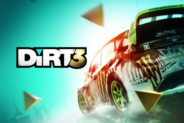 Dirt 3, supported by GS-Cobra motion simulator