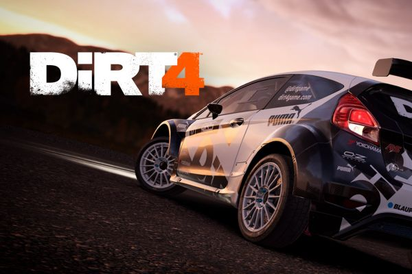 Dirt 4, supported by GS-Cobra motion simulator