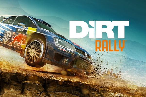 Dirt Rally, supported by GS-Cobra motion simulator