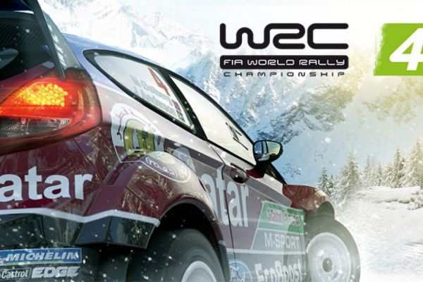 WRC 4, supported by GS-Cobra motion simulator