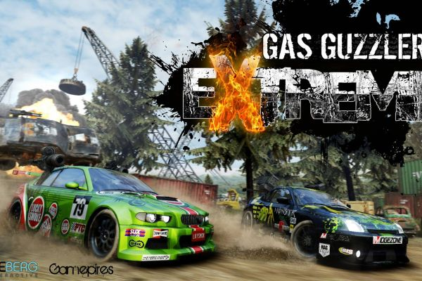 Gas Guzzlers Extreme, supported by GS-Cobra Motion Simulator