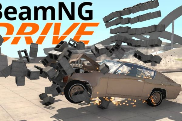 BeamNG Drive, supported by GS-Cobra Motion Simulator