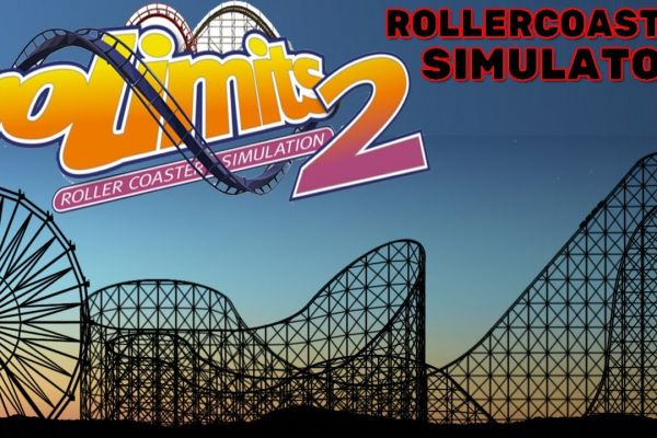 No Limits 2 roller coaster, supported by GS-Cobra motion simulator