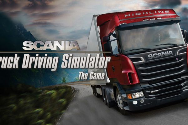 Scania Truck Driving Simulator, supported by GS-Cobra Motion Simulator