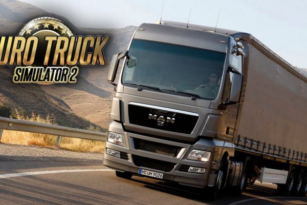 Euro Truck Simulator 2, supported by GS-Cobra Motion Simulator