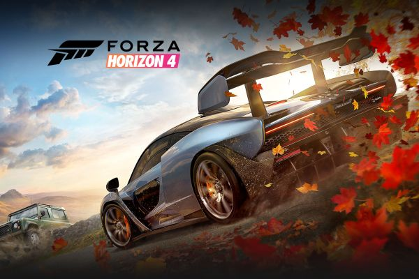 Forza Horizon 4, supported by GS-Cobra Motion Simulator